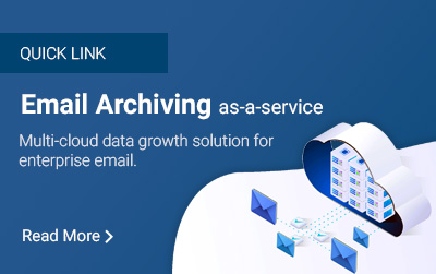Email Archiving as-a-service