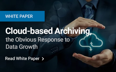 Cloud-based Archiving, the Obvious Response to Data Growth