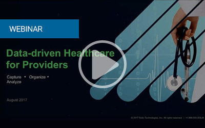 Data-driven Healthcare for Providers