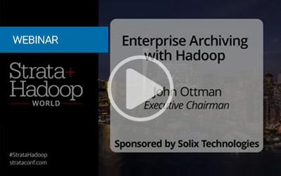 Enterprise Archiving With Hadoop