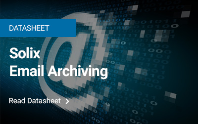 Solix Email Archiving
