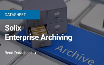 Solix Enterprise Archiving