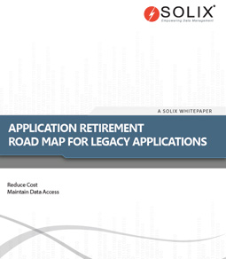 Application Retirement Road Map for Legacy Applications