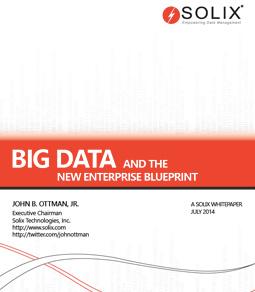 Big Data and The New Enterprise Blueprint