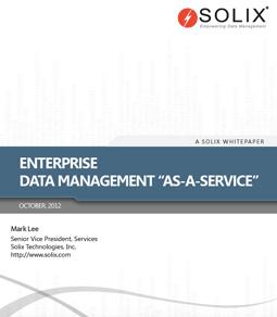 Enterprise Data Management