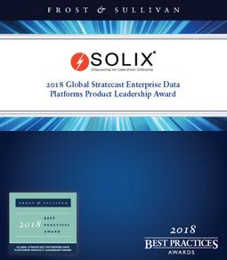 Report - 2018 Global Stratecast Enterprise Data Platforms Product Leadership Award