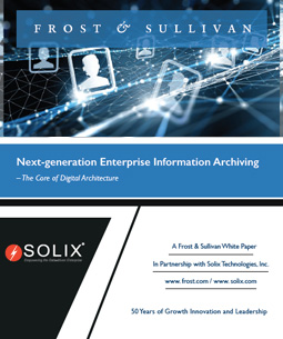 Next-generation Enterprise Information Archiving