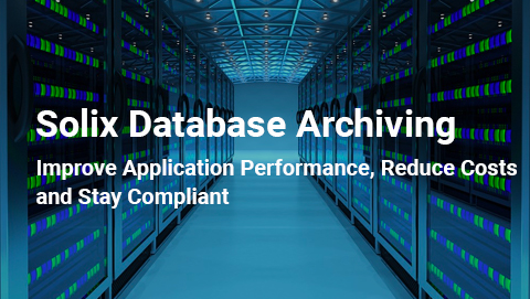Solix Database Archiving