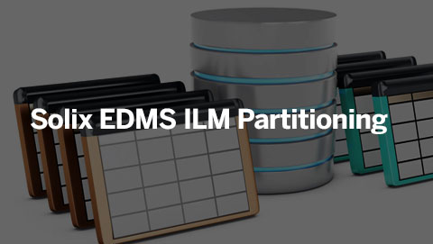 Solix EDMS ILM Partitioning