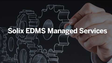 Solix EDMS Managed Services