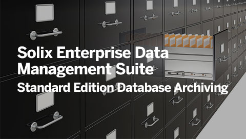 Solix Enterprise Data Management Suite – Standard Edition Database Archiving