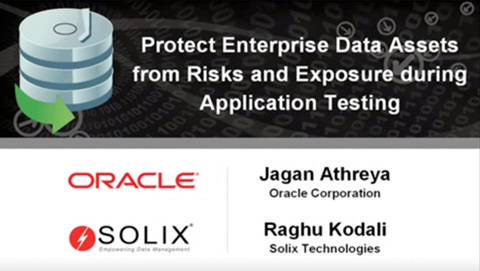 How to protect your enterprise data assets from risks and exposure during application testing