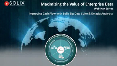 Improving Cash Flow with Solix Big Data Suite and Emagia Analytics