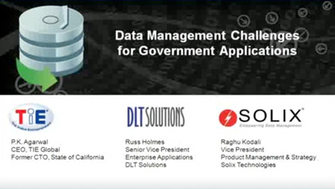 Data Management Challenges for Government Applications