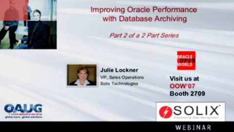 Improving Oracle Performance with Database Archiving (Part 2)