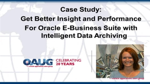 Get better insight and performance for Oracle E-Business Suite with intelligent data archiving