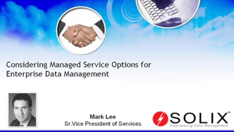 Consider Managed Services Options in a Tough Economy