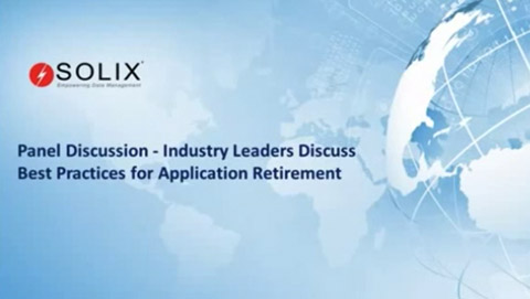 Industry Leaders Discuss Best Practices for Application Retirement