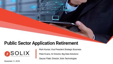 Retiring legacy applications – An opportunity for public agencies to free up OpEx