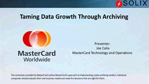 How MasterCard Tamed the Data Growth Beast