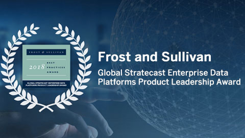 Frost and Sullivan Global Stratecast Enterprise Data Platforms Product Leadership Award